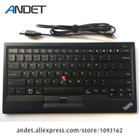 4X30K12182 New Original Lenovo ThinkPad Bluetooth Keyboard Support Window Android IOS Multi Connect Trackpoint US English USB