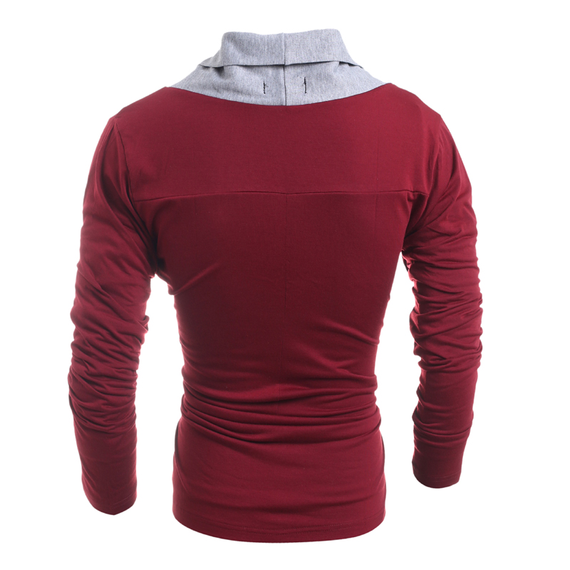 Hot 2018 New Brand Casual The cardigan Stitching color Classic Men Knitting Sweater Fashion Trend Slim Fit Men's Sweater XXL