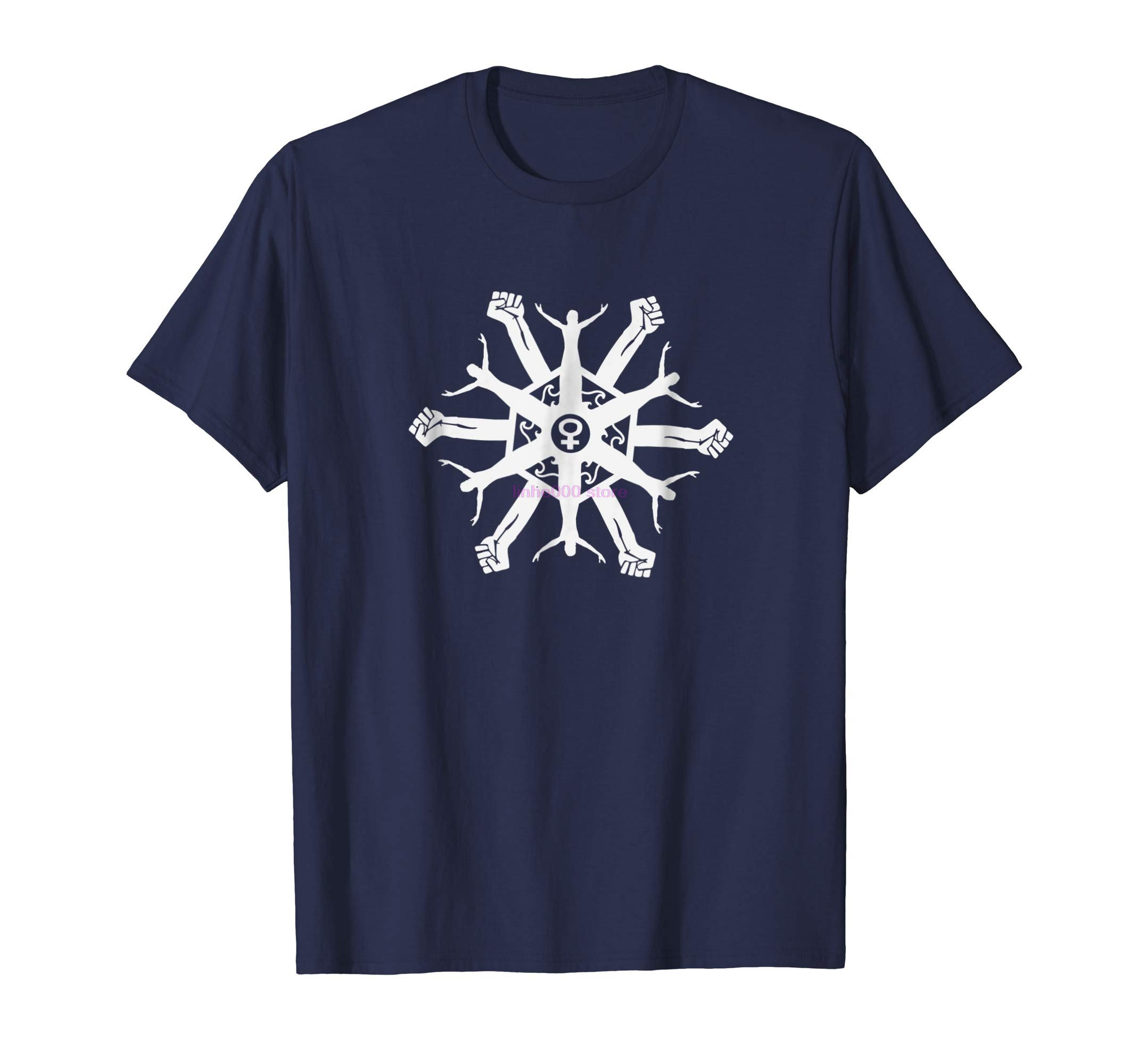 brand men shirt Feminist Snowflake tee <font><b>Protest</b></font> Trump T shirt Anti Kavanaugh image