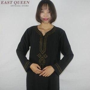Image 3 - Muslimischen kleid frauen kleidung kaftan dubai abaya islamische kleidung arabische kleid abayas für frauen AE001