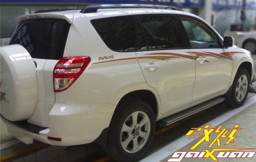 New Car body side sticker Decal garland Deco sticker lighting type for Toyota RAV4 XA30 Toyota