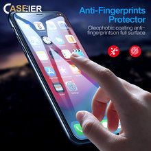 CASEIER HD Tempered Glass For iPhoneX XS MAX XR Protective iPhone X Max 8 7 6 6S 5S Screen Protector