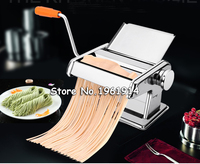 Stainless Steel Manual Noodle Press Household Pasta Making Machine Dough Roller Spaghetti Cutter
