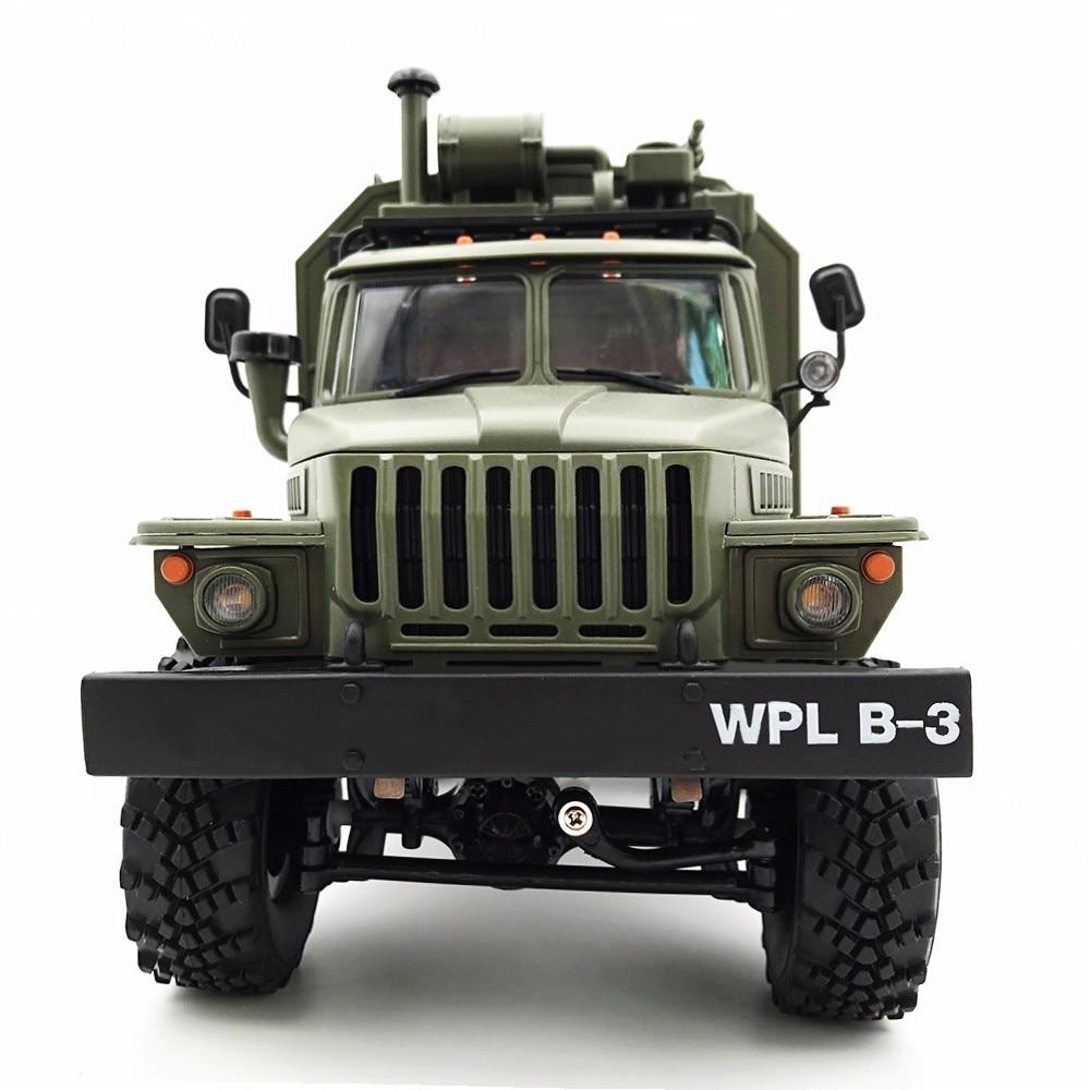 WPL B36 armée Ural camion échelle 1/16 2.4GHz 6WD modèle RC voiture camion militaire distant Contral escalade Rock Crawler voiture Hobby jouets