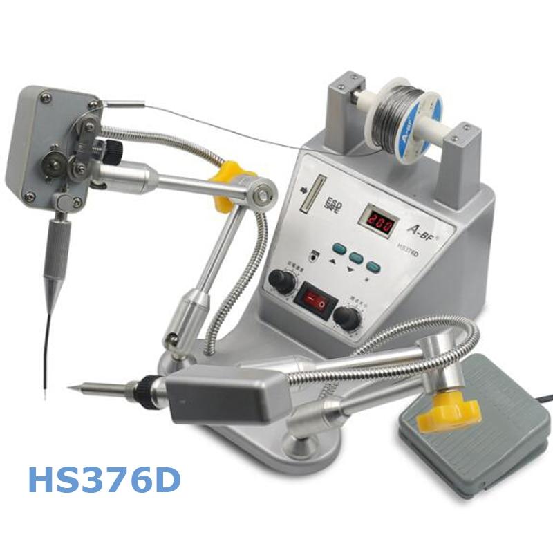 Automatic Tin Spot Welder Pedal Soldering Machine Tin Soldering Robot High Precision Digital Iron Soldering Gun