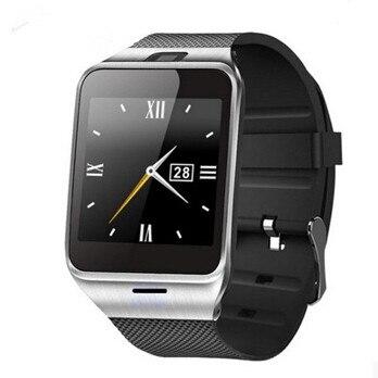 Smartch Смарт-часы GV18 1.5 «1.3 м карты памяти камеры и слот sim-карты Шагомер smartwatch для мужчины и женщины для телефона Android