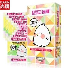 ELASUN 003 condoms 144pcs large oil smooth sensation condom penis for men extra lubricated safer contraception