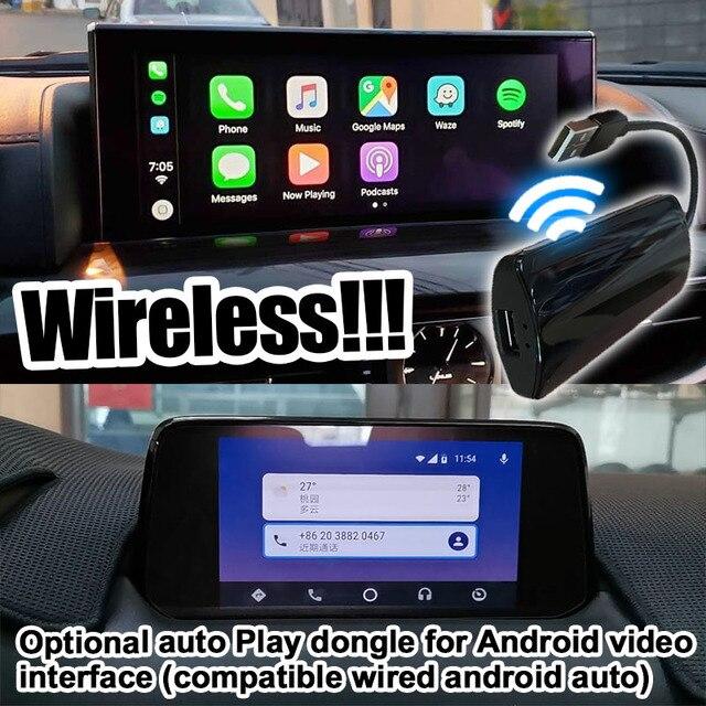 Pin to pin Android / carplay interface box for Toyota Land Cruiser LC200 GX-R GXR VX-R VXR 13-20 video interface mirror link