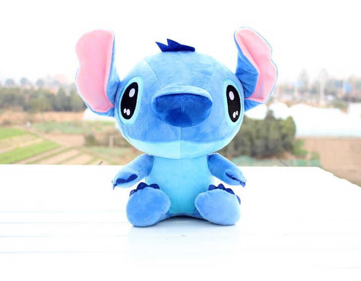Discount 20cm Kawaii Stitch Plush Toys Anime Lilo and Stitch Soft Stuffed Animal Dolls Stich Plush Children Birthday Gift 38cm plush whales toys with soft pp cotton creative stuffed animal dolls cute whales toys fish birthday gift for children