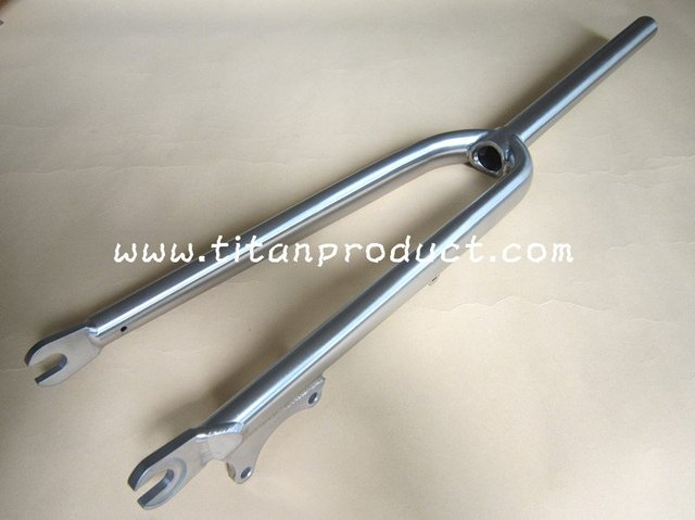 Titanium Cyclocross Fork with Disc Brake Only-in Bicycle Fork from ...