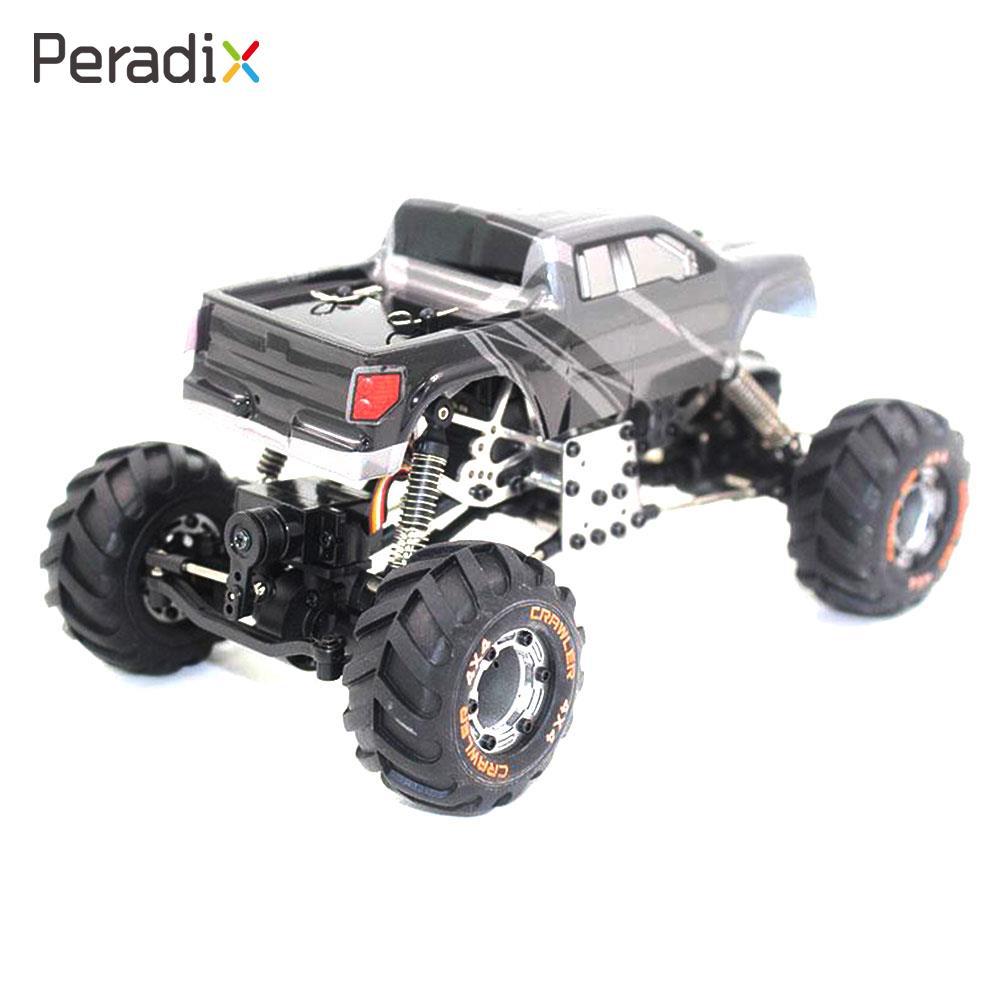 2098B 1:24 2.4Ghz Remote Control Rechargeable Rock Crawler RC Car Model EU Plug