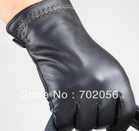 Mens Real Leather Gloves Leather GLOVE Gift Accessory Wholesale From Factory 12pair Lot 3164
