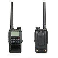 vhf uhf Retevis RT87 מקצועי IP67 Waterproof מכשיר הקשר 5W 128CH VHF UHF Dual Band מערבל VOX FM שני הדרך רדיו ווקי טוקי (3)