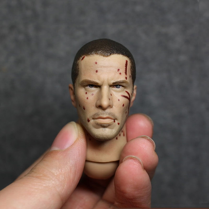 1/6 The Christian Bale Connor Head Damage Version for 12 Bodies