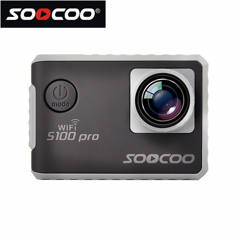 Original SOOCOO S100Pro 4K High-definition Voice-activated Touch Screen WIFI Sports Diving Camera GPS Positioning Sports Camera