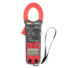 купить SZBJ BM5268 Handheld Digital Clamp Meter Multimeter True RMS AC/DC Volt Amp Ohm Capacitance Frequency Temperature Diode Tester дешево