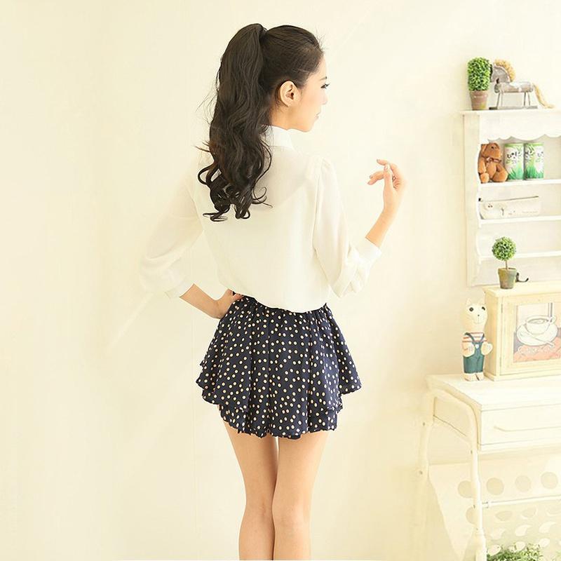 HTB1u0kbQXXXXXbRXpXXq6xXFXXXU - Korean Women Elegant Bow Tie White Blouses Clothing