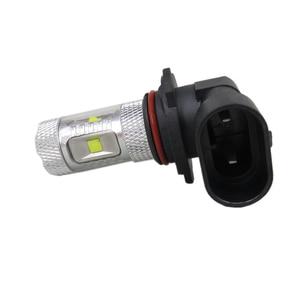 Image 2 - WLJH 2 cái 9006 HB4 30 Wát Epistar Dẫn Con Chip Lamp Light Bulbs Lens Car Phụ Kiện Bên Ngoài Led Fog Sáng Bóng Đèn Cho BMW E46 330ci