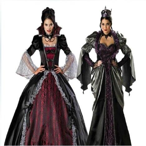 masque mujer vampiro cosplay vestidos halloween uniformes gothic bruja zombie reina en disfraces fiestas hombre de la novedad y de uso especial en