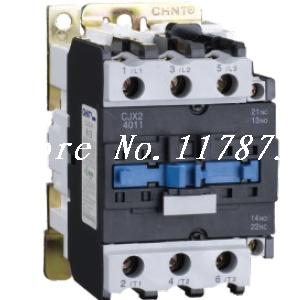 цена на AC Contactor Motor Starter Relay (LC1) CJX2-4011 NO+NC 220/230V Coil 40A 11KW