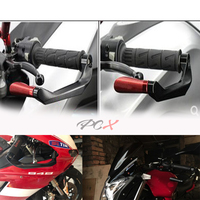 Universal 7/8 22mm Motorcycle Handlebar Brake Clutch Levers Protector GuardFor Suzuki DL650/V STROM VSTROM V STROM 2004 2012
