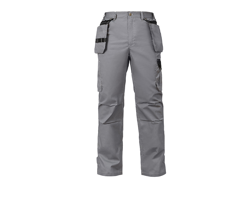 Durable Maintenance Worker Pants with Tool Pockets