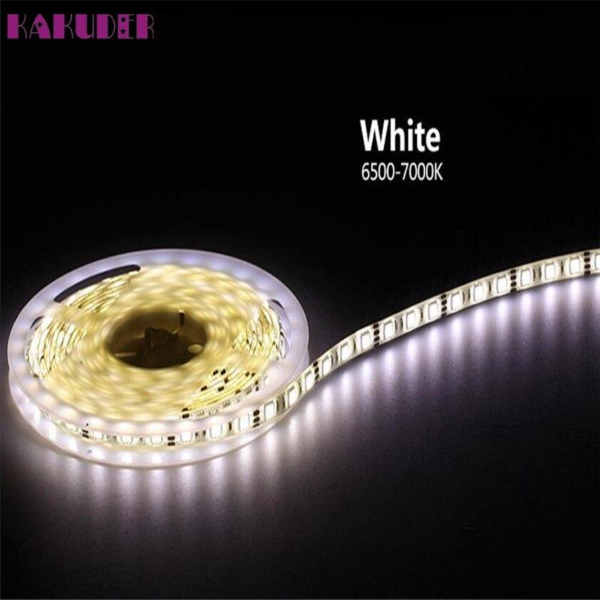 Высокое качество 10 м RGB 5050 Водонепроницаемый Светодиодные ленты света 300 SMD 24 кнопочный пульт 12 В 5A Мощность