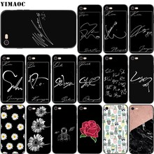 YIMAOC EXO Chen Chanyeol Signature Soft Silicone Case for iPhone 11 Pro XS Max XR X 8 7 6 6S Plus 5 5s se(China)