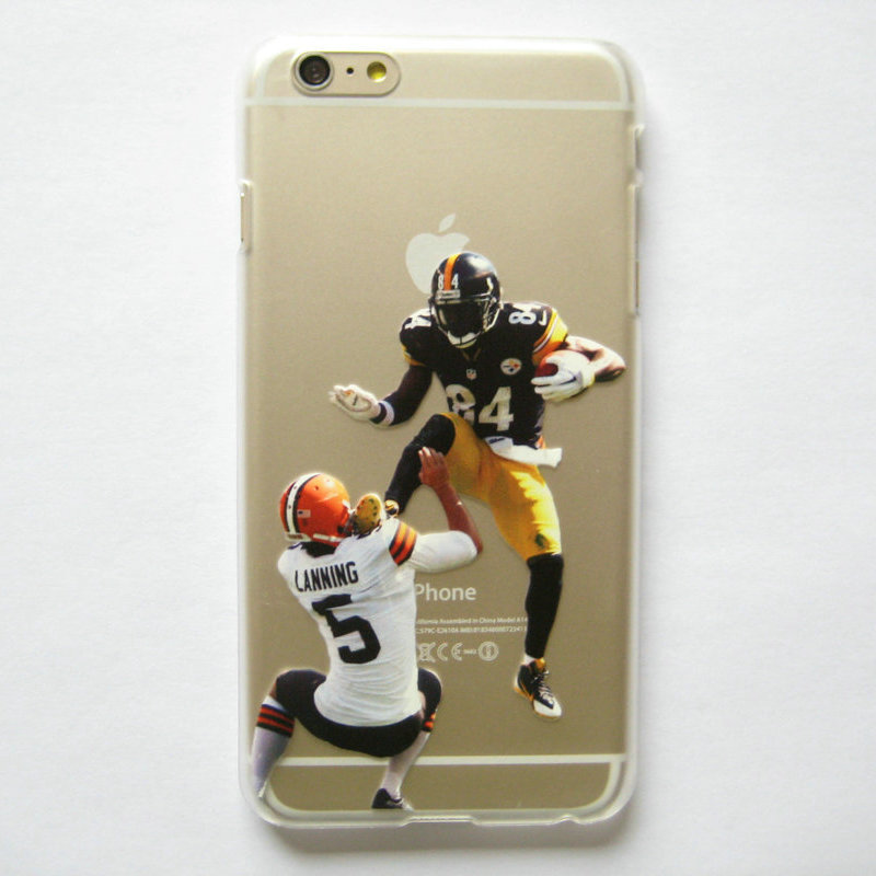 timeless design 189d3 6cf7c US $4.5  Clear Case for iphone 6 6s American Football Watt Gronkowski Odell  beckham jr printed Phone Cover for iphone 6 4.7'' on Aliexpress.com   ...