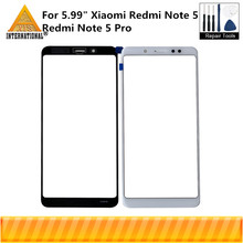 "Original Axisinternational 5.99"" For Xiaomi Redmi Note 5 Redmi Note 5 Pro Outer Front Glass Touch Glass Screen Digitizer+Tools"