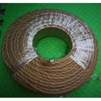 100m 2 core Retro Braided Electrical Wire Fabric cable DIY pendant lamp wire vintage hemp rope twisted wire cable