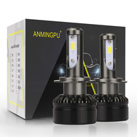 ANMINGPU 2PCS 10000LM Pair Headlight Bulbs H4 H7 Led Bulb H8 H9 H11 H1 9007 9005