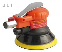 JLI 5''/125mm Pneumatic Air Sander Sanding Machine With Vacuum Disc Grinding Machine Industrial Grade Pneumatic Type Tools