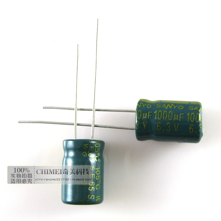 Electrolytic Capacitor 1000UF 6.3V Volume 8X12MM 8 * 12mm Capacitor