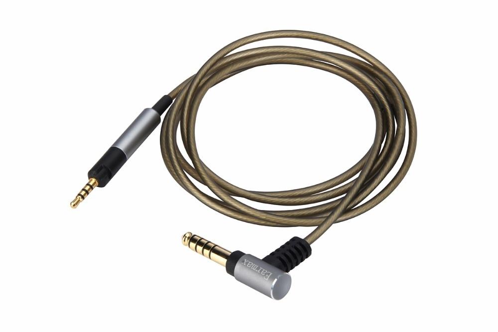 Сбалансированный аудиокабель 4,4 мм/2,5 мм для наушников Sennheiser HD595 HD 558 518 HD598 Cs SE SR HD599 HD 569 579