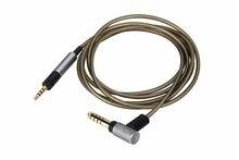 4.4mm/2.5mm cabo de áudio equilibrado para sennheiser hd595 hd 558 518 hd598 cs se sr hd599 hd 569 579 fones de ouvido