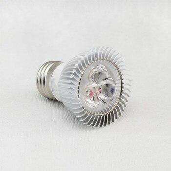 OYGROUP moderno E27 3W 3 bombilla de foco led iluminación para decoración de fiestas en el hogar, hoteles, Clubs, centros comerciales blanco cálido 85V-220
