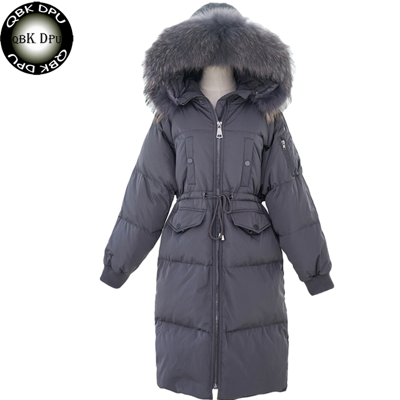 Chinese Style Thick Mens Down Coat Top Quality 90% White Duck Down Jacket With Hooded Long Winter Jacket Warm Parkas Overcoat Products Are Sold Without Limitations Down Jackets