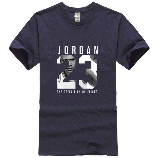 ff02a5febeb 2018 Michael Jordan 23 jump brand T-shirt men's Harajuku 95 cotton T-shirt  summer men's clothing Slim T-shirt XXL