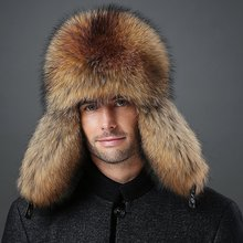 Fall And Winter Fox Fur Cap Male Protector Leifeng Northeast Thicker Outdoor