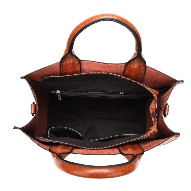 Women Leather Bags | Casual Female Tote | Ladies Shoulder Bag