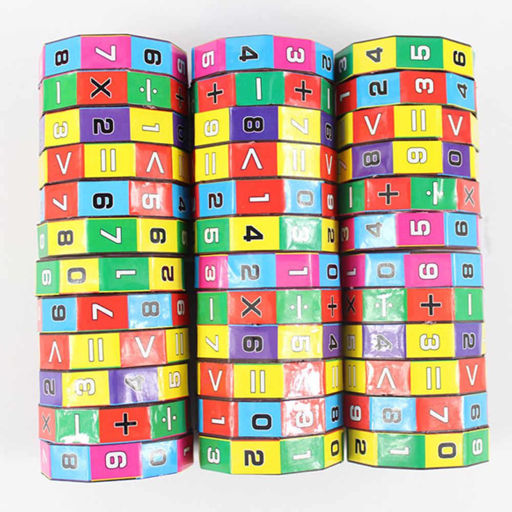 الأطفال الاطفال مكعب التخلص من القلق للأطفال التعليم المبكر لعب الرياضيات أرقام ألعاب ألغاز لعبة لعبة هدية