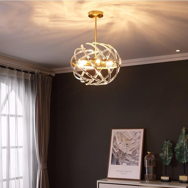 Begeistert Jaxlong Moderne Led Anhänger Lichter Kristall Kreative Netzwerk Home Restaurant Leuchte Suspendu Loft Deco Bar Nordic Licht Küche Um 50 Prozent Reduziert