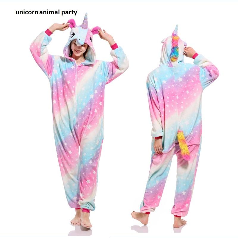 new Kigurumi Onesies Cosplay various styles color Starry sky Pegasus Sleepsuit Pajamas  Costume Sleepwear Jumpsuit Halloween