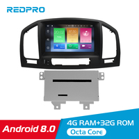 8 Android 8.0 car dvd Stereo GPS Radio Multimedia Player For Opel Vauxhall Insignia CD300 CD400 2009 2012 Auto Video Navigation