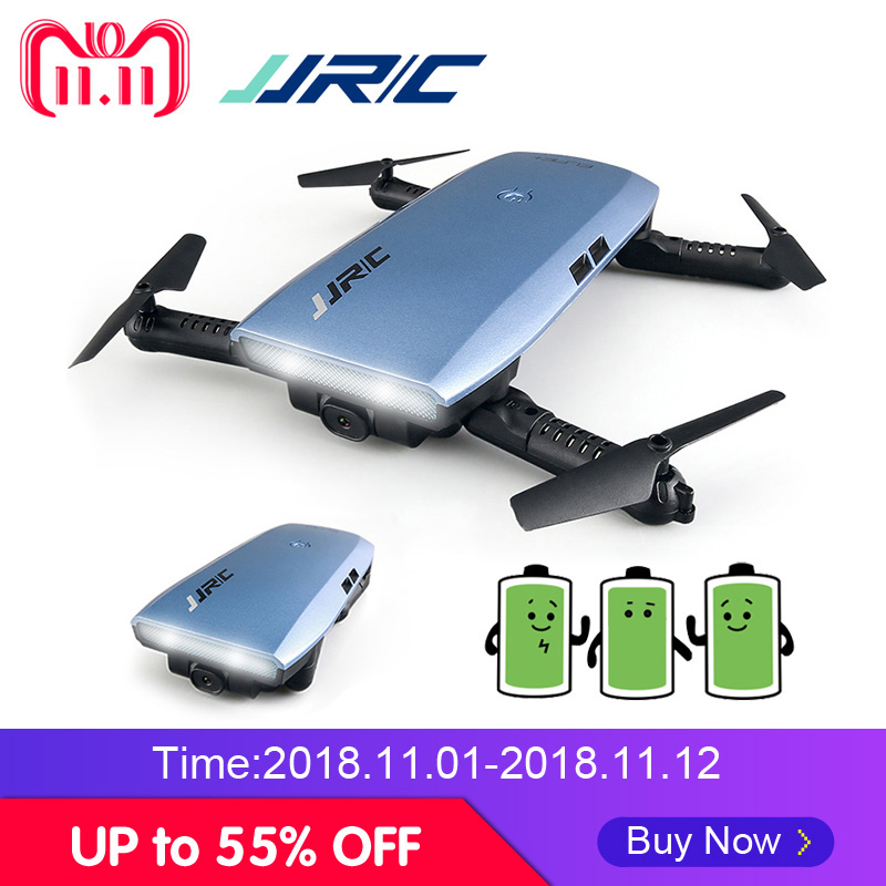 JJRC JJR/C H47 FPV Drone Foldable Quadcopter with Camera HD Altitude Hold Headless Mode G-Sensor Control Dron VS H37 Mini