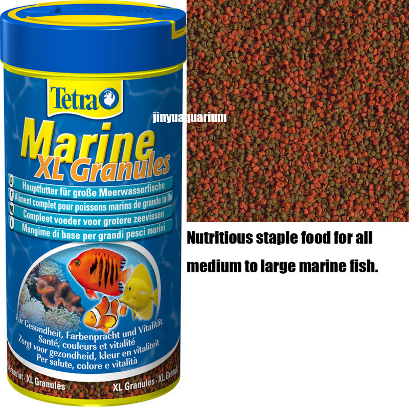 tetra marine granules fish small food sea reef tank