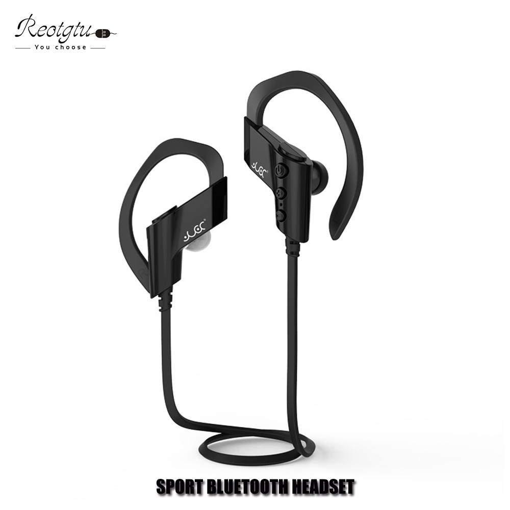 Wireless Sports in-Ear earphone Stereo Bluetooth Headset 4.1 With Mic Handsfree Headphones For Smartphone iphone em290 copper wire earphone in ear with mic clear 3d sound quality handsfree call for android ios smartphone oppo xiaomi mp3 pc