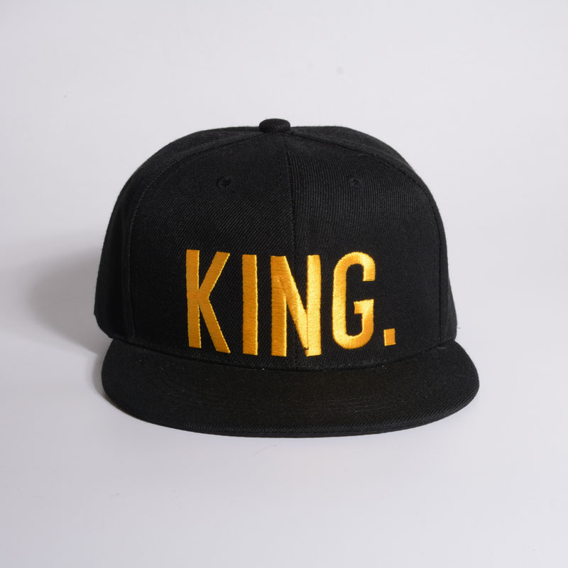 2017 hot casquette KING QUEEN embroidery rebate hat acrylic men and women couple baseball cap   Couple hip hop hat