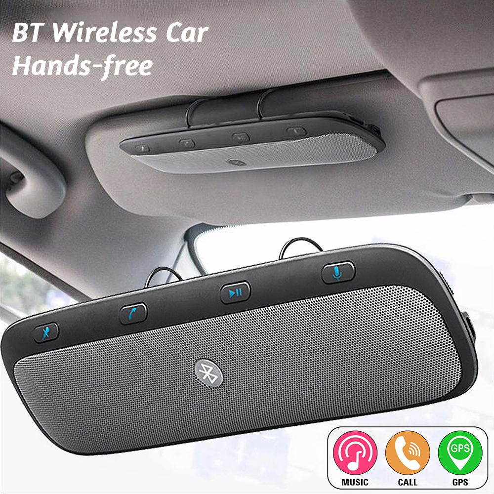 hight resolution of multifunctional bt wireless car hands free multipoint speakerphone speaker kit for bmw e46 e90 ford focus 2 vw hyundai suzuki in bluetooth car kit from